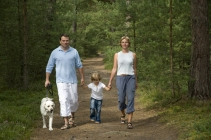 family walking dog in Spring.jpg